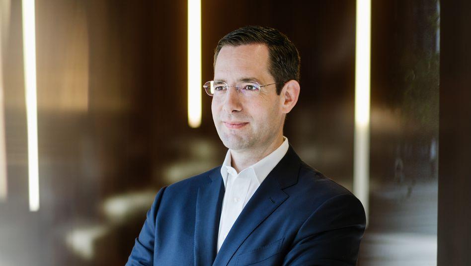 Alexander Geiser, Deutschland-Chef von Hering Schuppener