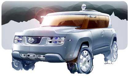 Nissan-Studie Terranaut: Forschers Dienstwagen