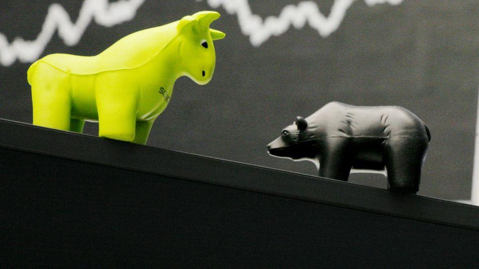 Dax im Minus: Der deutsche Aktienindex zeigt sich am Thanksgiving Tag im Minus
