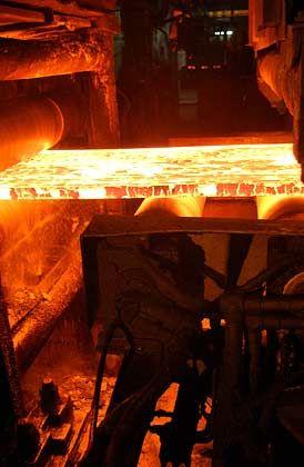 Stahlproduktion bei Arcelor: Höherer Quartalsgewinn als von Experten erwartet worden war