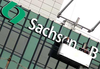 Neuer Name, alte Probleme:Aus der SachsenLB wird die Sachsen Bank