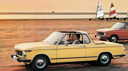 60iger Jahre: BMW 2002 Cabriolet von Baur