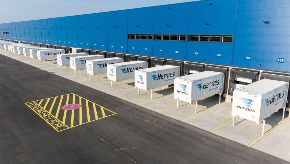 Logistik-Center von Hermes in Leipzig: Immobilien dieser Art werden zunehmend gebraucht - und sind bei Investoren beliebt.