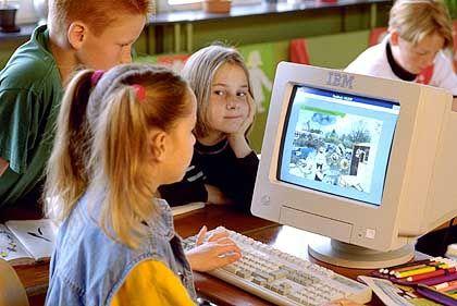 Vieleicht ist die nächste Generation digital: Kinder am Computer