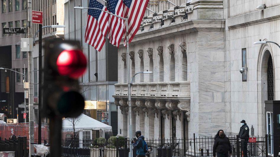 Wall Street in New York: Im Herzen der US-Finanzwelt sorgt der Hedgefonds Archegos Capital für Unruhe