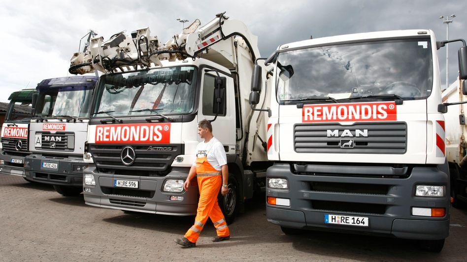 Müllkutscher: Remondis ist Marktführer im Abfallbusiness.