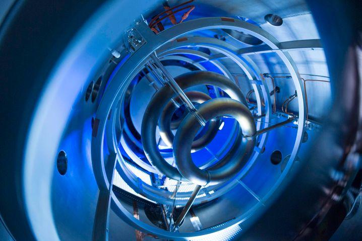 Passt auf einen Lastwagen: Magnetspulen des von Lockheed Martin entwickelten Minireaktors