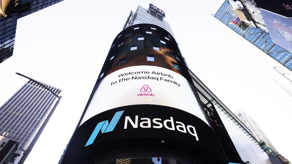 Nasdaq auf Rekordhoch: Anleger zeigen sich erleichtert über den Amtswechsel in den USA
