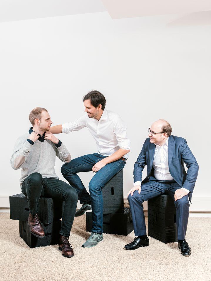 Deutschlands wertvollstes Start-up in Privathand: 11 Milliarden Dollar Bewertung erreicht Celonis von Alexander Rinke, Martin Klenk und Bastian Nominacher (v. l.)