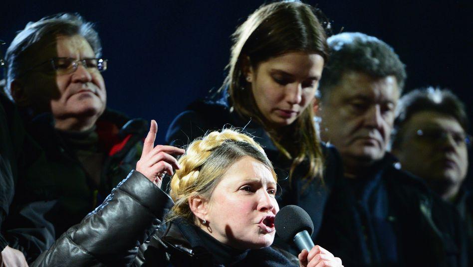 Hält sich die Präsidentschafts-Kandidatur offen: Julia Timoschenko