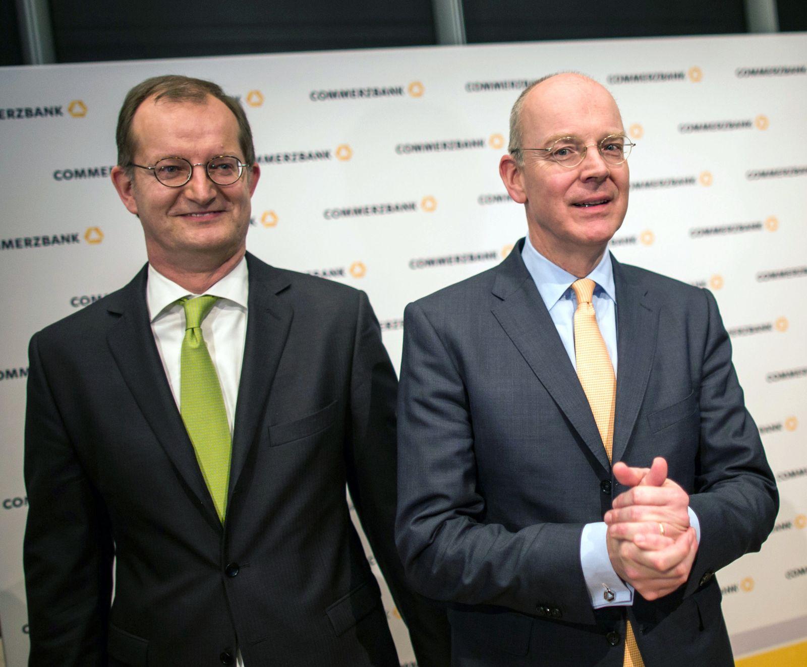 Martin Zielke/ Martin Blessing/ Commerzbank