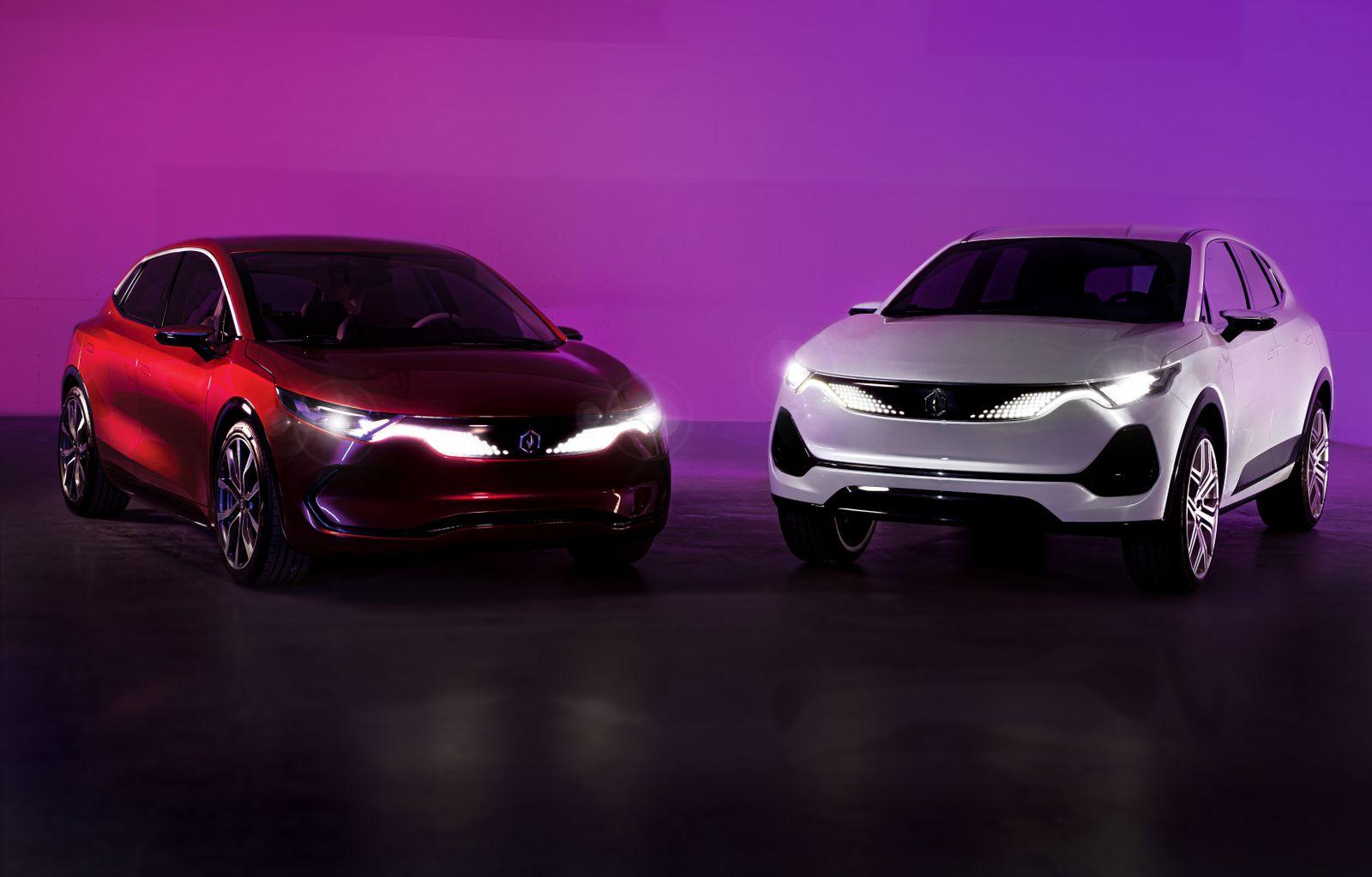 IZERA / Electromobility Poland / Frontansicht