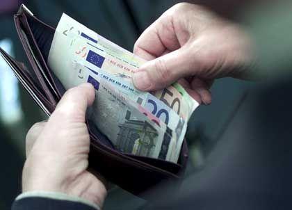 Euro-Geldscheine: Vor allem Dienstleistungen wurden teurer