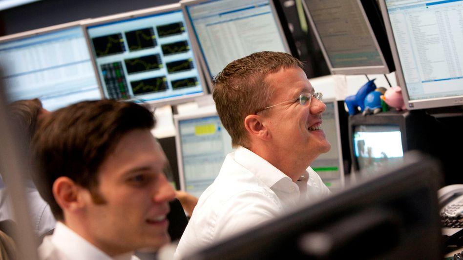 Gute Stimmung in Frankfurt: Am Vortag schloss der Dax 5 Prozent höher