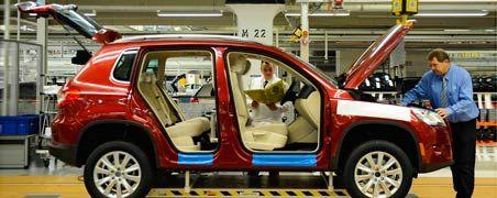 Die Bänder laufen: Im Gegensatz zur Konkurrenz spielt Kurzarbeit beim Volkswagen-Konzern kaum noch eine Rolle.