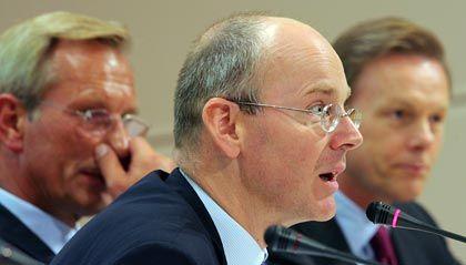 Gebremster Durchmarsch: Commerzbank-Chef Blessing, hier bei der Bekanntgabe der Übernahme im September