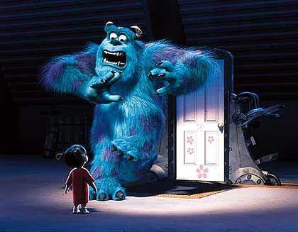 """Aufmüpfig: Klein-Pixar wird dem großen Partner Disney zu erfolgreich (Szene aus """"Monster AG"""")"""