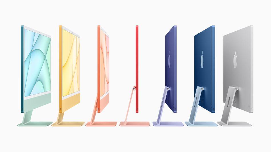 Mehr als neun Milliarden Dollar Umsatz mit iMacs: Der höchste Wert im Geschäft mit Mac-Computern in der Unternehmensgeschichte