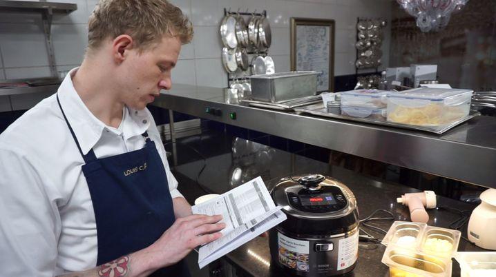 Tortilla von selbst: In den Autocook muss man nur die Zutaten hineingeben