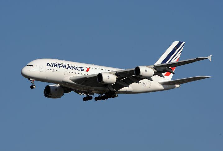 Ausgedient: Ein A380 von Air France.