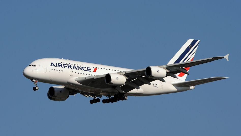 Air France Airbus A380: Fluggesellschaft zuletzt deutlich profitabler als im Vorquartal