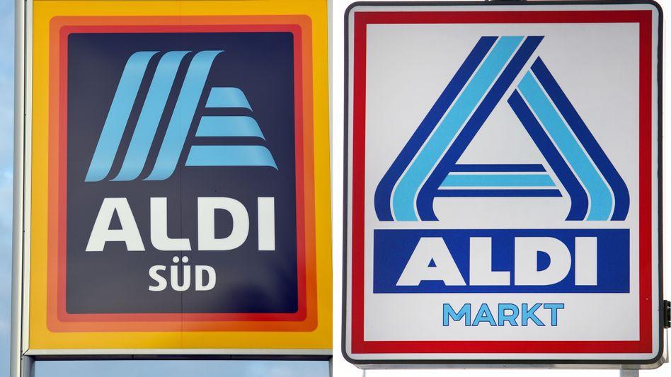 Aldi Süd und Aldi Nord: Die beiden Discounter wollen einen einheitlich gesteuerten Verbund schaffen.