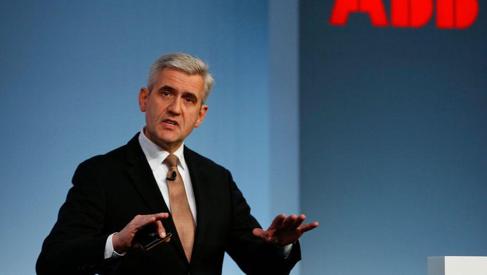 ABB-Chef Ulrich Spiesshofer: Was er derzeit auch macht, dem Aktionär und Hedgefonds Cevian ist dies nicht genug
