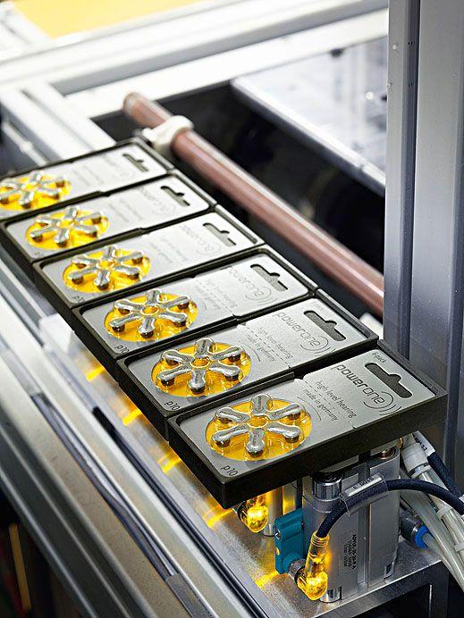 Produktion Varta Microbattery