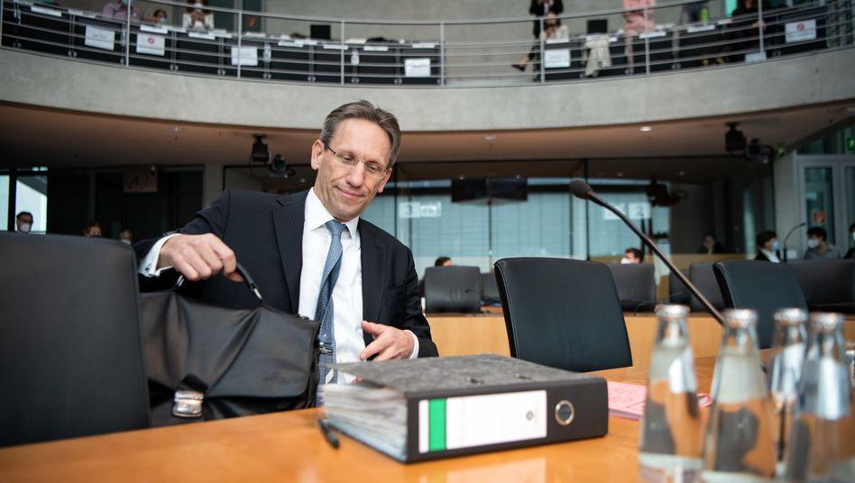Jörg Kukies: Der Finanzstaatssekretär ist Schlüsselzeuge im Skandalfall Wirecard. Vor dem Untersuchungsausschuss nahm er Finanzminister Olaf Scholz in Schutz