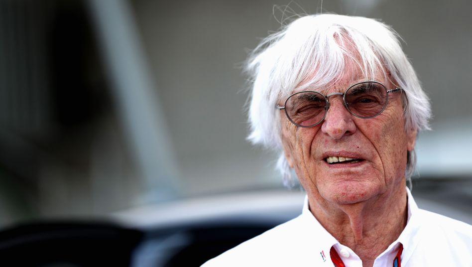 Ex-Formel-1-Alleinherrscher Bernie Ecclestone