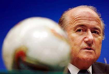 Sepp Blatter: Alter- und neuer Präsident der Fifa