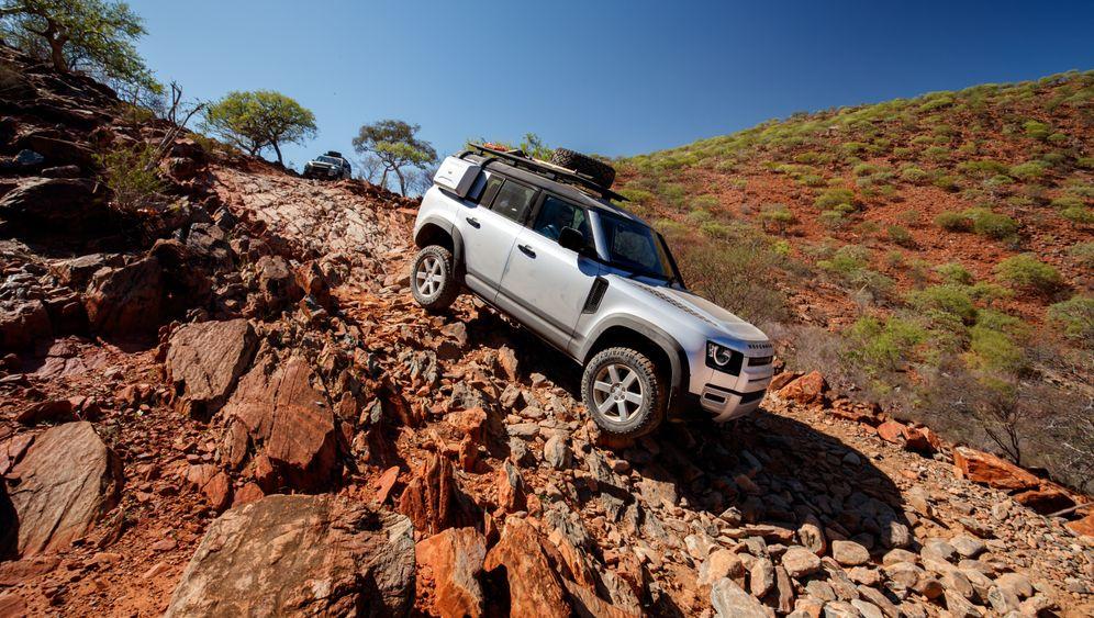 Land Rover Defender: Die Neuauflage des Allrad-Evergreens in Bildern
