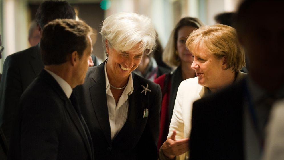 Christine Lagarde: Krisenmanagerin im weltweiten Einsatz