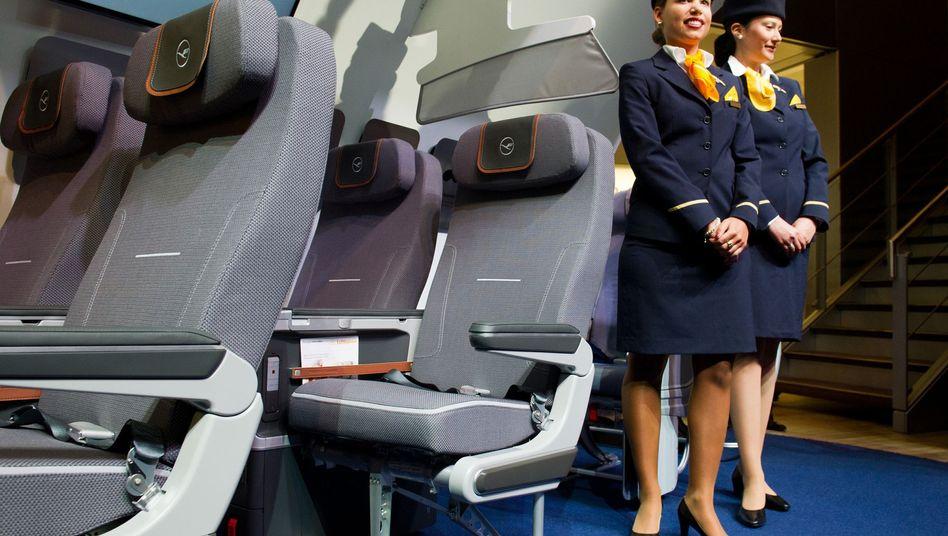 Premium Economy der Lufthansa: Bis zu 55 Euro für eine Sitzplatz-Reservierung