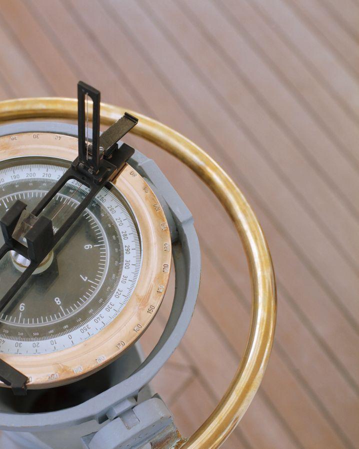 Kompass: Die Himmelsrichtung kann man leicht bestimmen, die moralische Ausrichtung ist schwieriger zu definieren