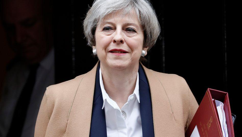 """Theresa May: """"Nationale Selbstbestimmung wieder herstellen"""""""