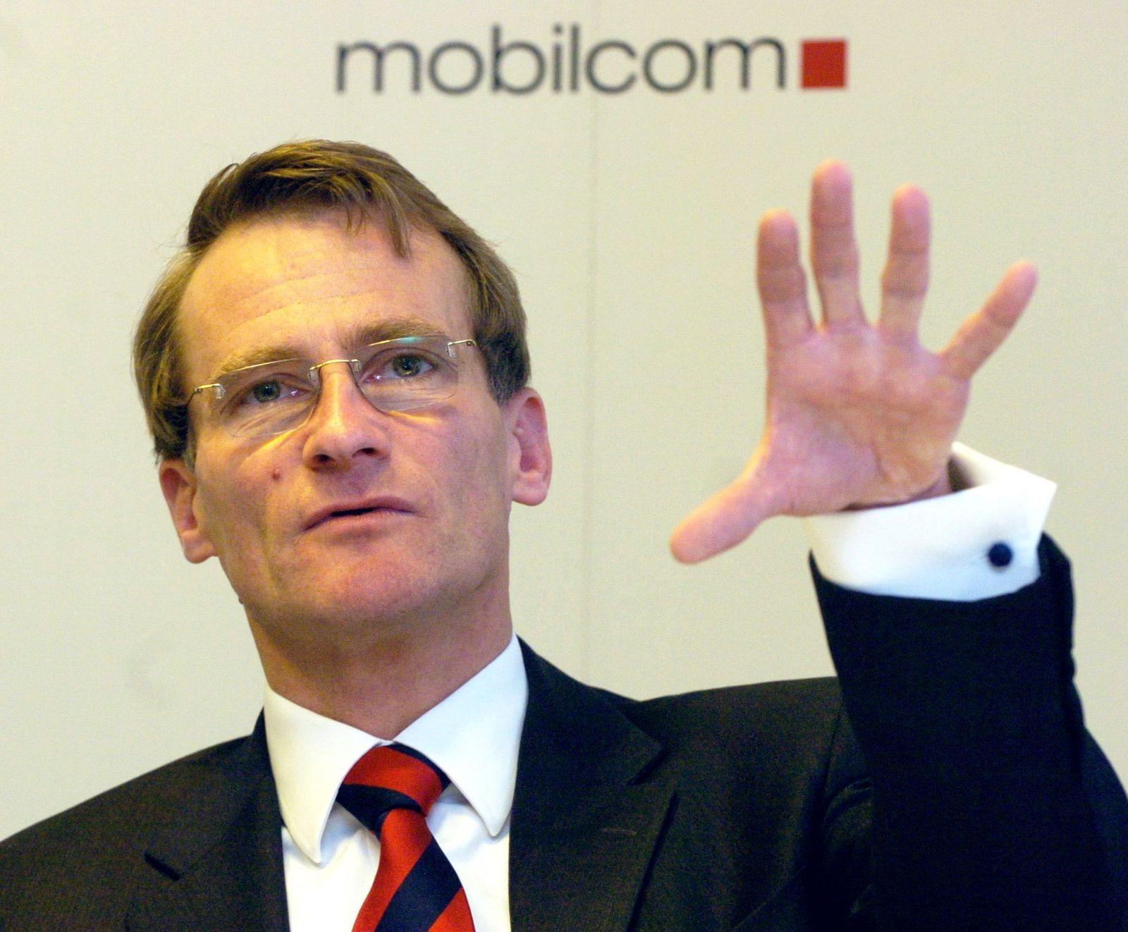 Bilanz-Pk mobilcom AG - Thorsten Grenz