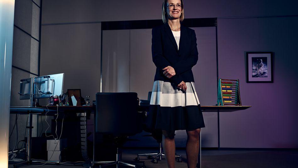 Melanie Kreis wacht über die Finanzen der Deutschen Post