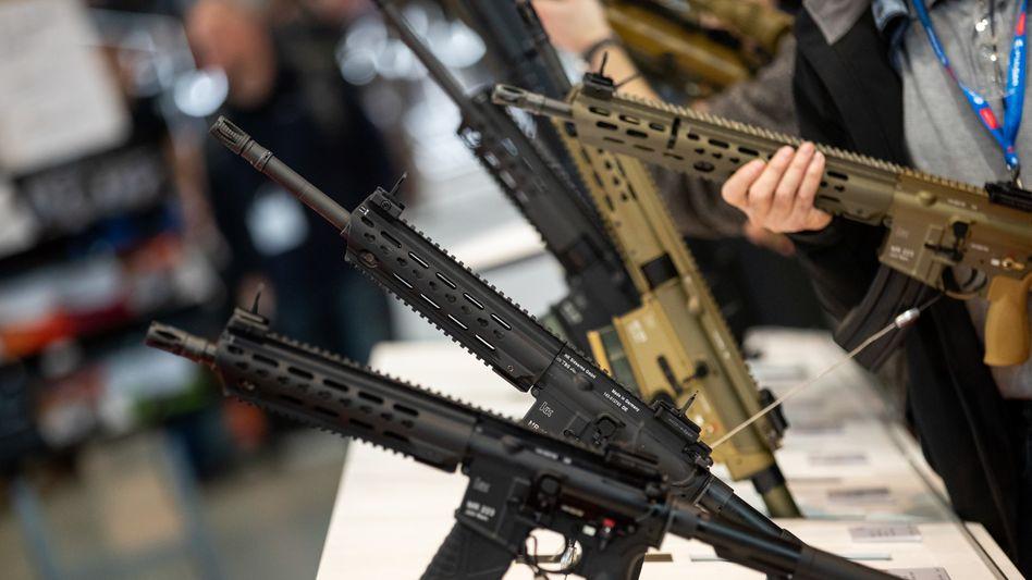 Waffen von Heckler & Koch: Der Hersteller ringt um seine Stellung als Bundeswehrlieferant