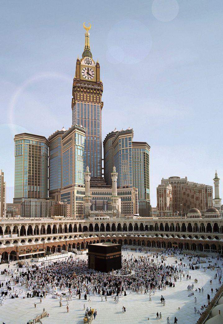 Glockenschlag vom Turmhotel: Das Mecca Clock Royal Center