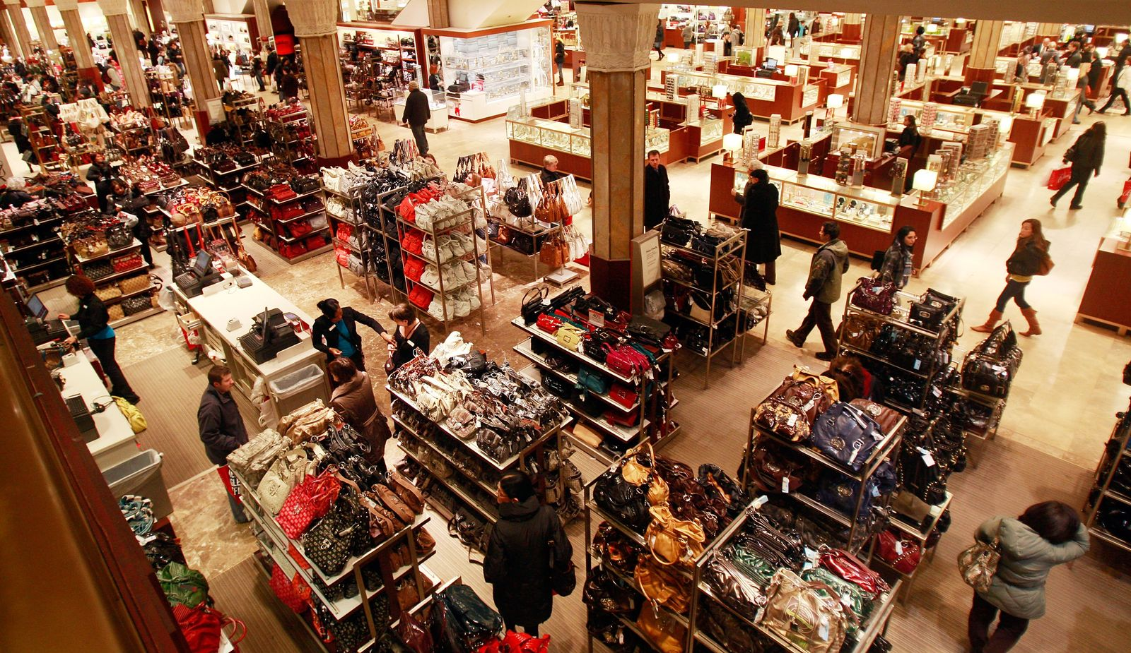 Shopping / Macy's / Einkaufszentrum USA