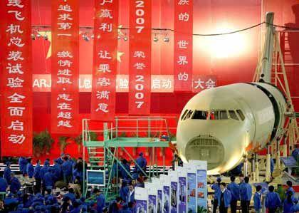 Flugzeugproduktion in Shanghai: Mehr Wertschöpfung aus höherwertigen Produkten