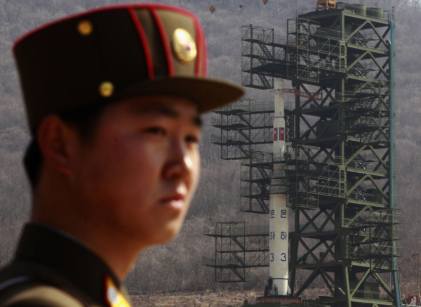 Nordkorea / Unha-3 Rakete