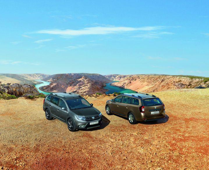 Als aktuell billigster Kombi steht der Logan MCV mit mindestens 7990 Euro in der Preisliste von Dacia