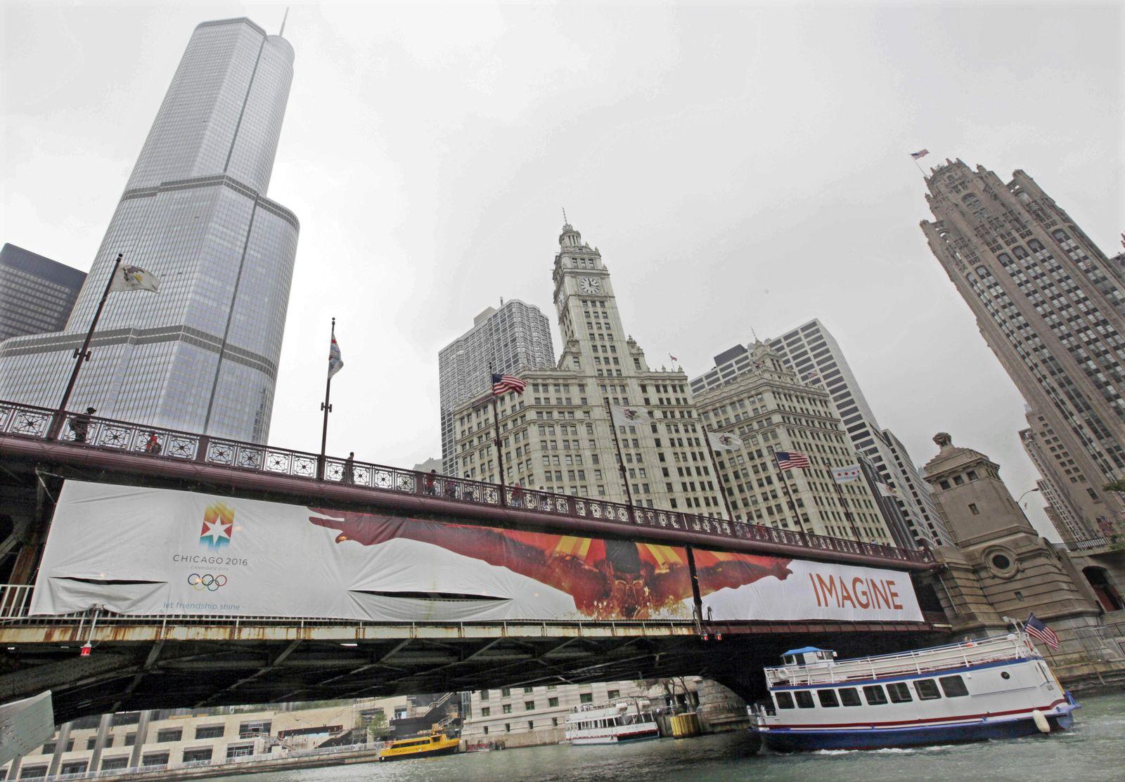 Chicago Werbeplakat