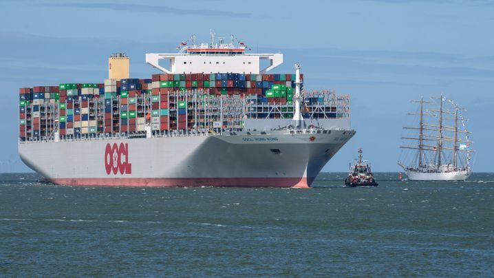 Riesen der Meere: Die größten Containerschiffe der Welt