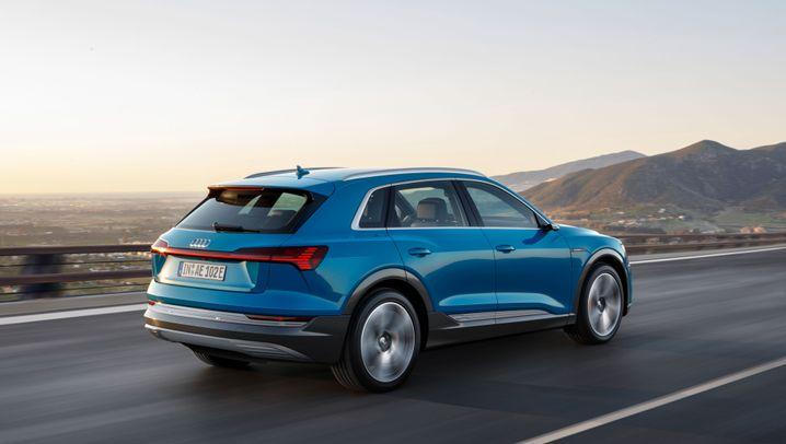 Audi e-tron: Inspiriert vom Raumschiff
