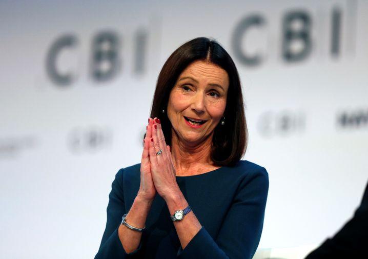 Bitte, bitte ... macht euren Job: Carolyn Fairbairn, Präsidentin des britischen Industrie- und Unternehmerverbands, richtet einen deutlichen Appell an die britischen Parlamentarier