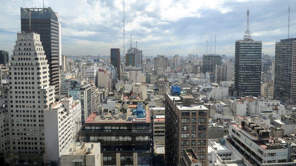 Blick auf Buenos Aires (Archiv): Blackout in Argentinien und Uruguay