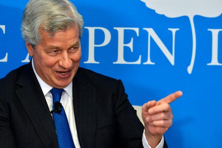 Letzter Verteidiger der Universalbank: JPMorgan-Topmann Jamie Dimon